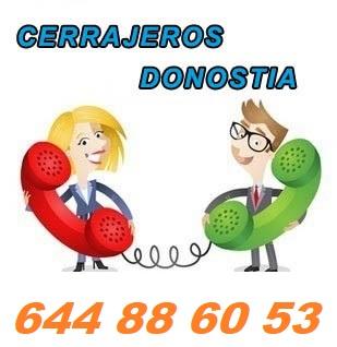 cerrajeros en Donostia